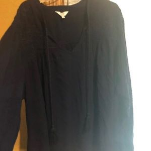 New w/o tags Nave Crown & Ivy blouse